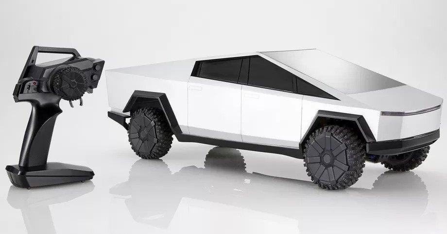 Hot Wheels представила Tesla Cybertruck на дистанционном управлении