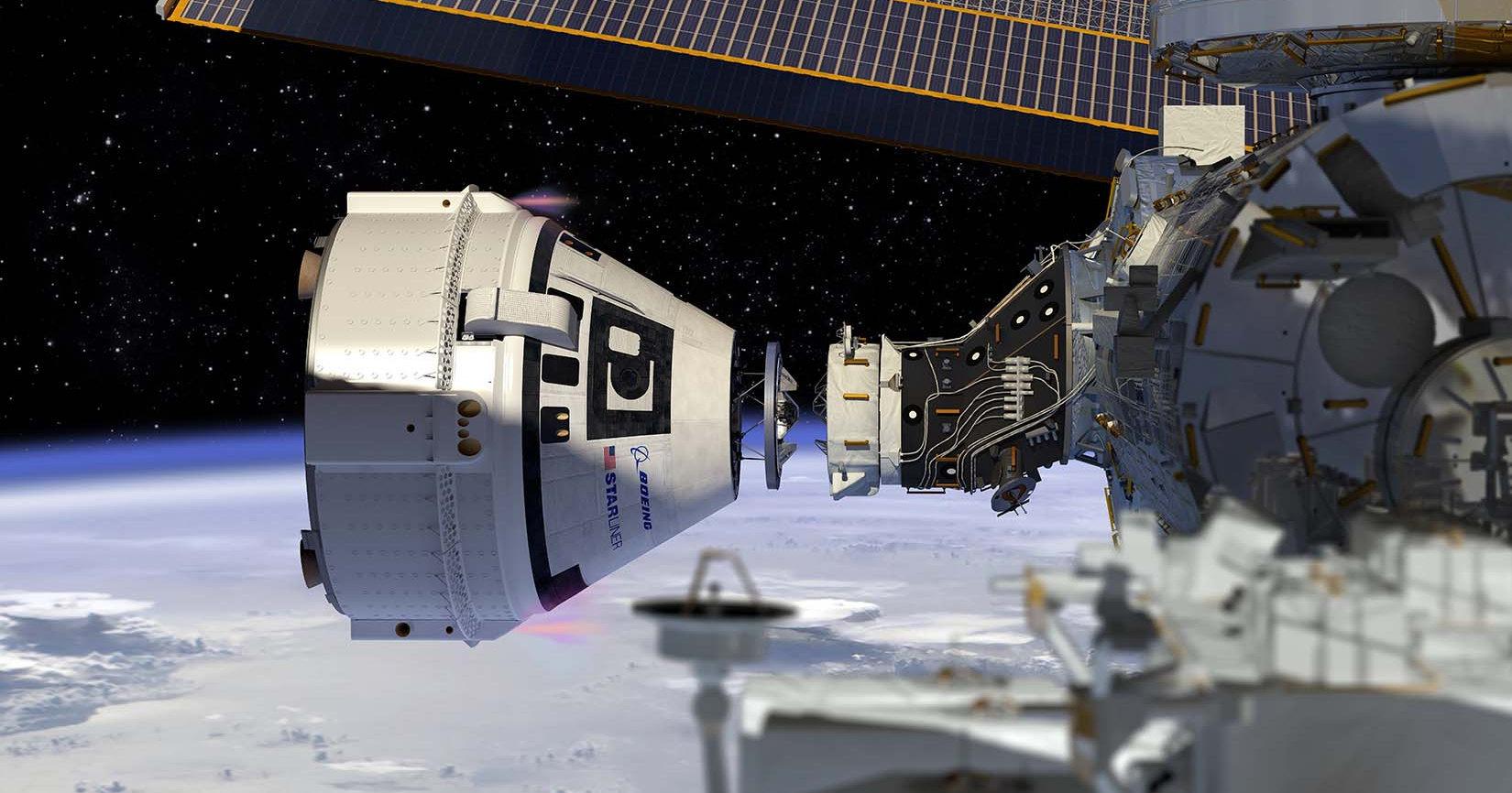 Космический корабль Boeing оснастили деталями из Воронежа