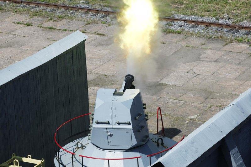 Показательные стрельбы на Ржевском полигоне