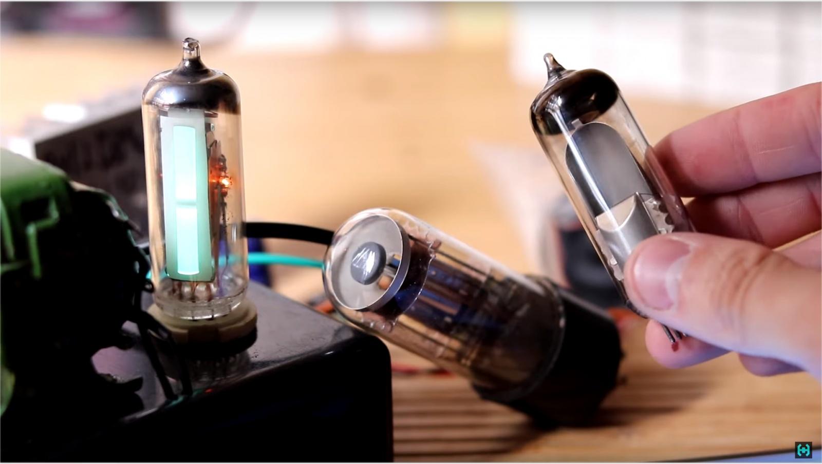 Визуализация звука на старинных лампах - 2