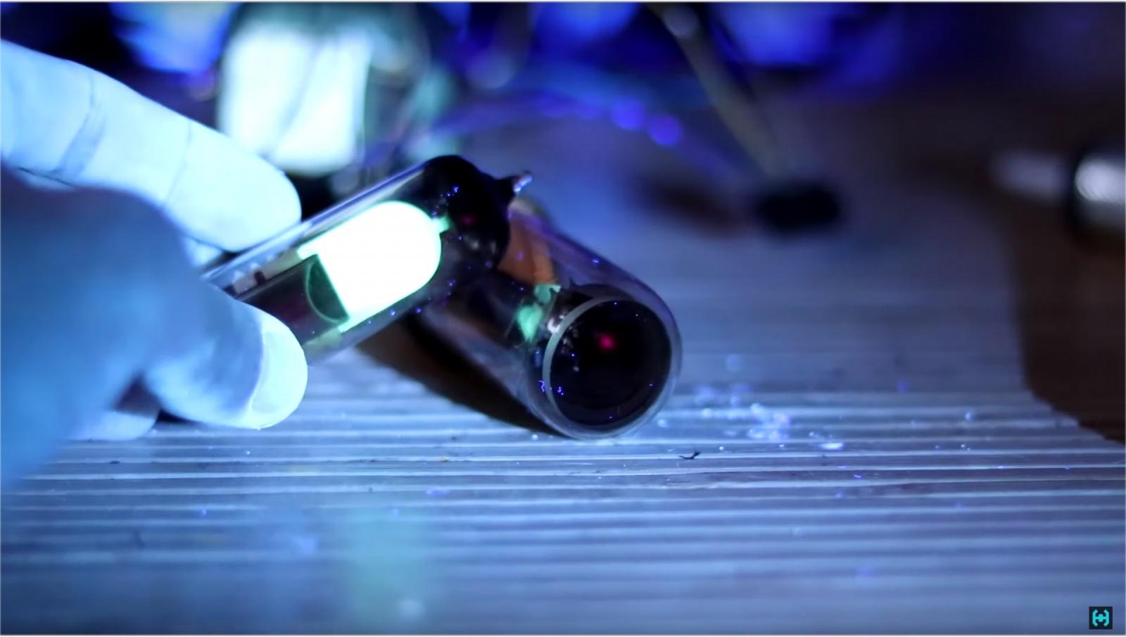 Визуализация звука на старинных лампах - 21