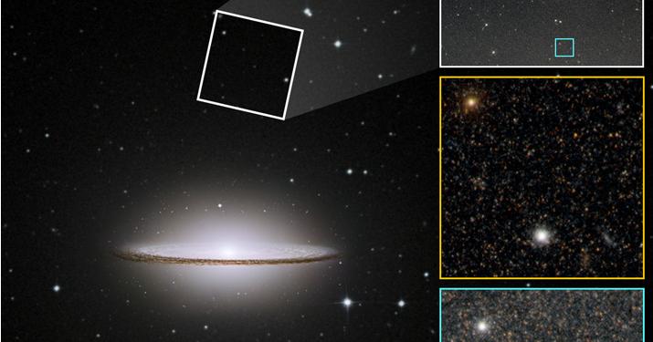 «Хаббл» заснял необычную галактику Сомбреро