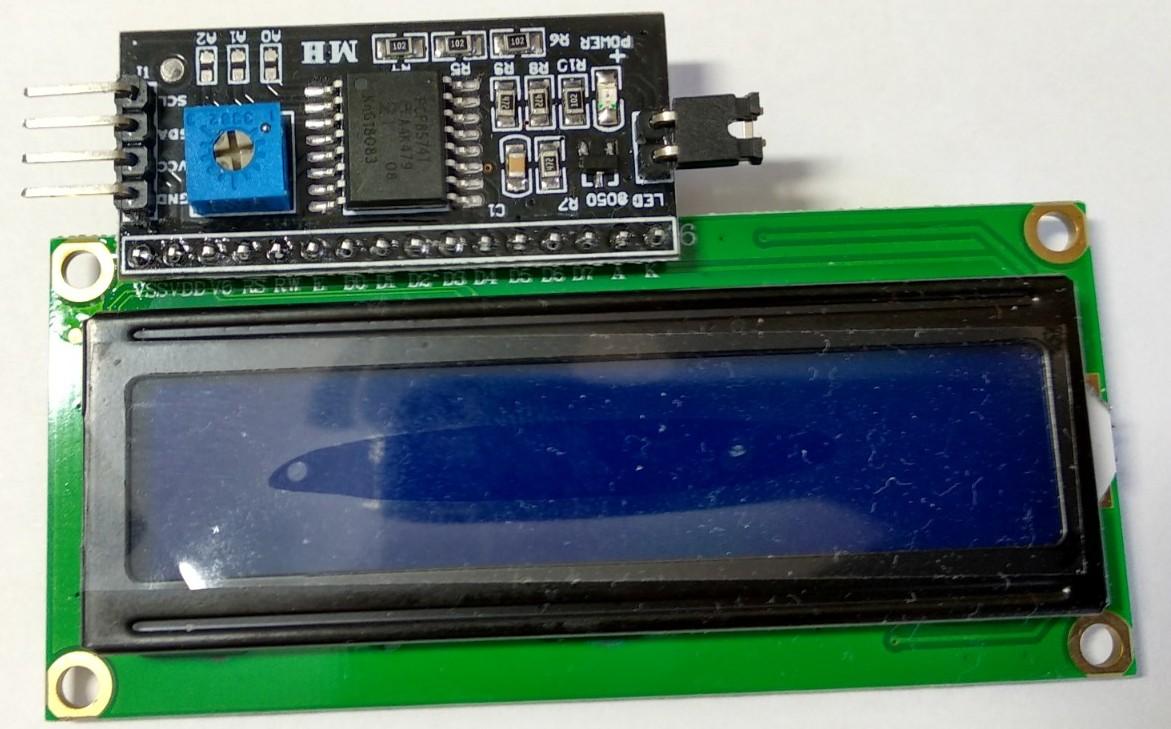Измеритель температуры и влажности на контроллере Arduino c отображением значений на LCD дисплее - 2