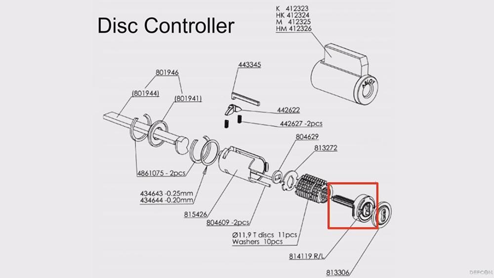 Конференция DEFCON 27. Изготовление дубликатов механических ключей с ограниченным доступом. Часть 2 - 25