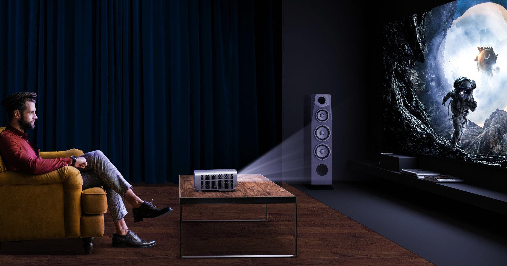 Вместо ТВ и кино: как выбрать проектор для дома