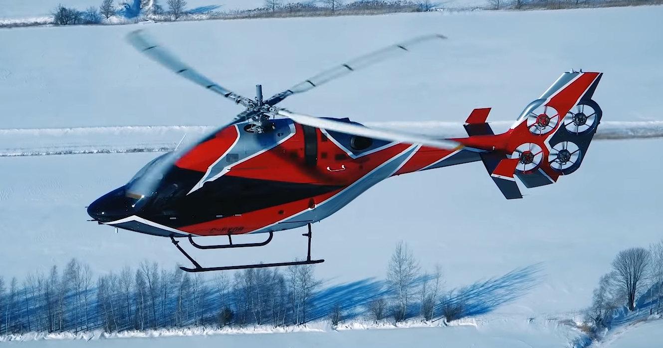 Зачем вертолету четыре винта на хвосте