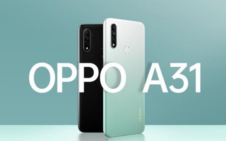 OPPO A31 с 6 Гбайт ОЗУ и 128 Гбайт встроенной памяти стал доступен в Индии