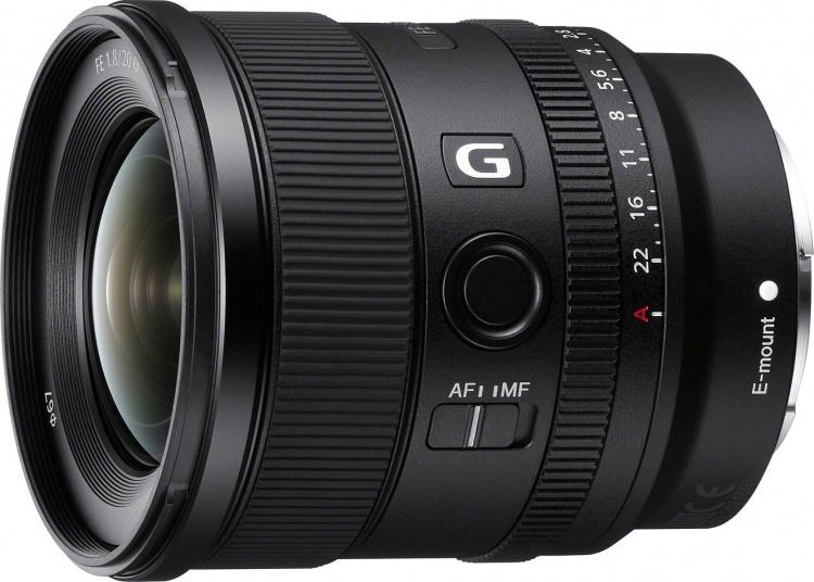 Sony представила ультраширокоугольный высококлассный объектив FE 20 мм f/F1,8 G за 0