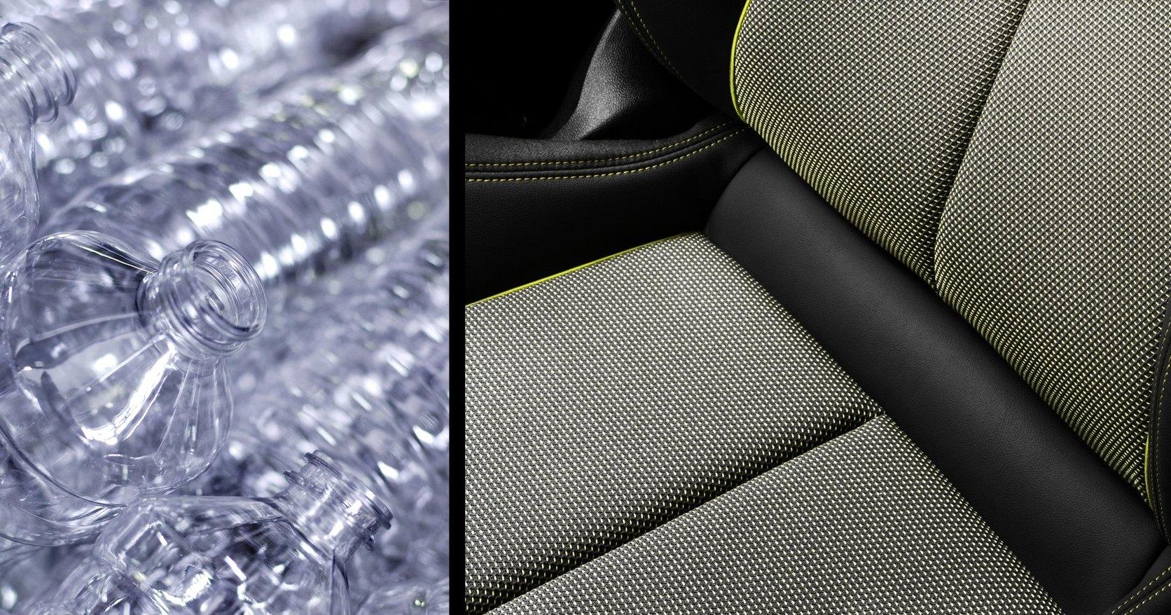 Интерьеры Audi будут делать из пластиковых бутылок