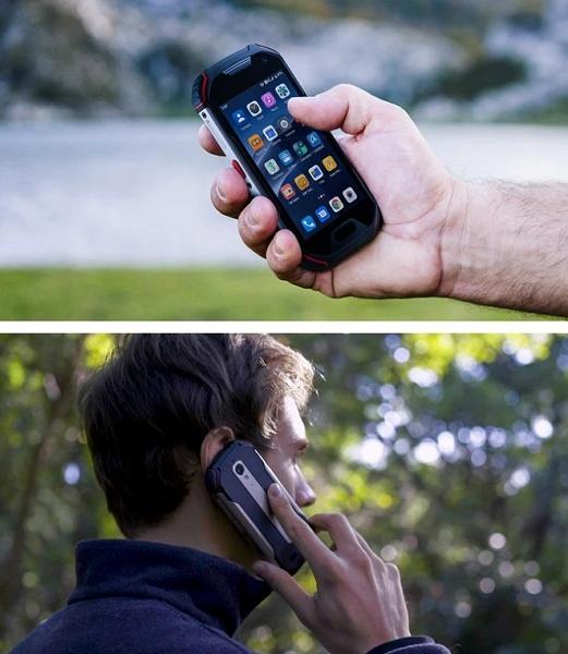 Компактный защищённый смартфон с хорошей камерой, большим аккумулятором и рацией. Atom XL стартует с 220 долларов