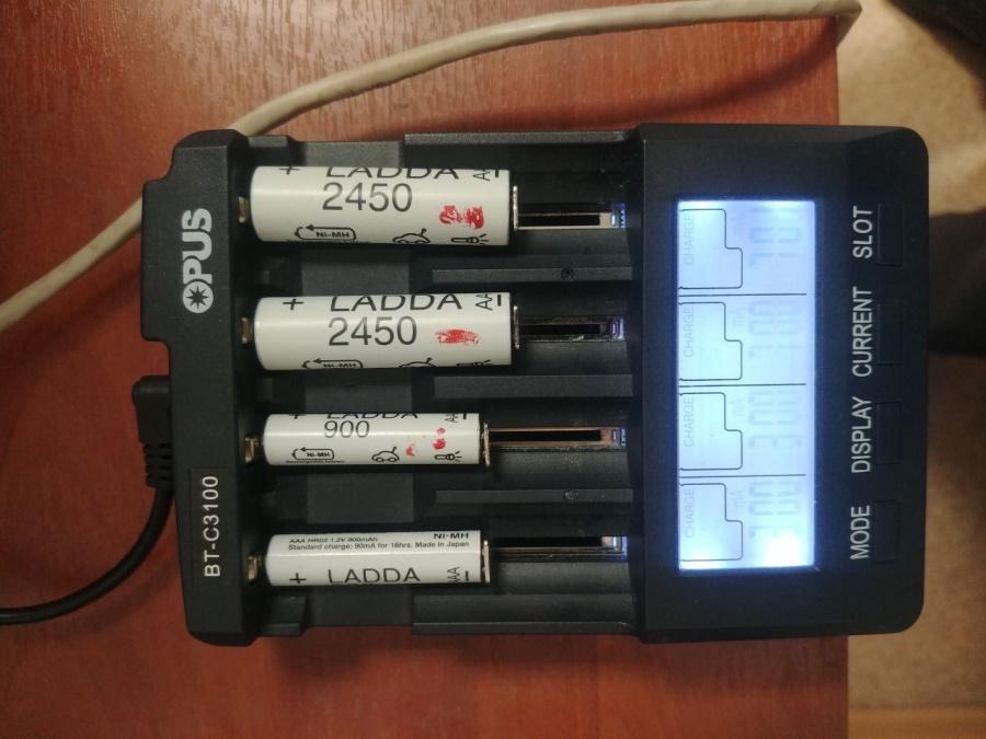 Ловим деградацию аккумуляторов АА и ААА при токах в 0.3 от емкости - 1