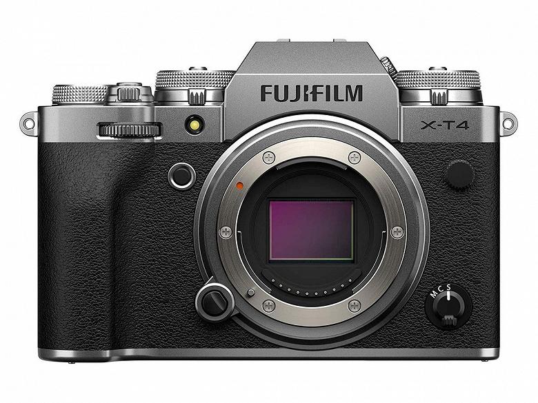 Модель Fujifilm X-T4 возглавила линейку беззеркальных цифровых камер Fujifilm Х