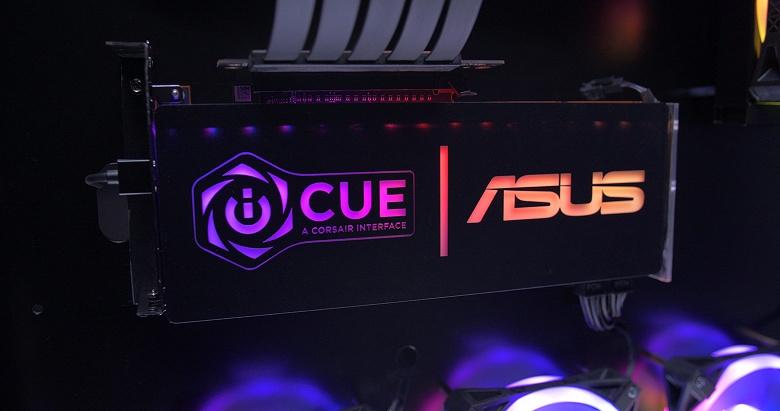 ПО Сorsair iCUE «подружили» с Asus Aura Sync