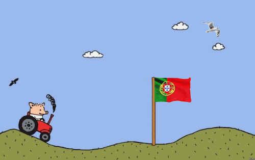 Пособие начинающего серфингиста или жизнь программиста в Португалии - 1