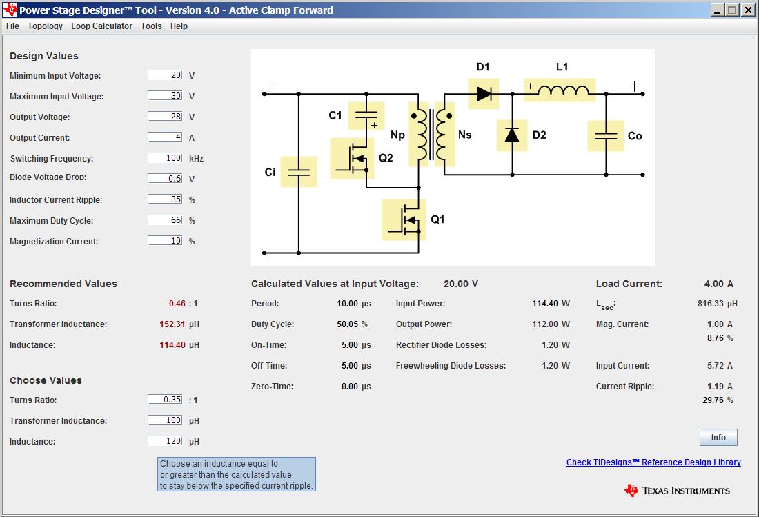 Утилита Power Stage Designer — инструмент разработчика силовой электроники - 2