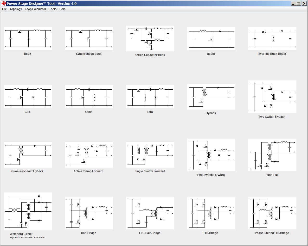 Утилита Power Stage Designer — инструмент разработчика силовой электроники - 1