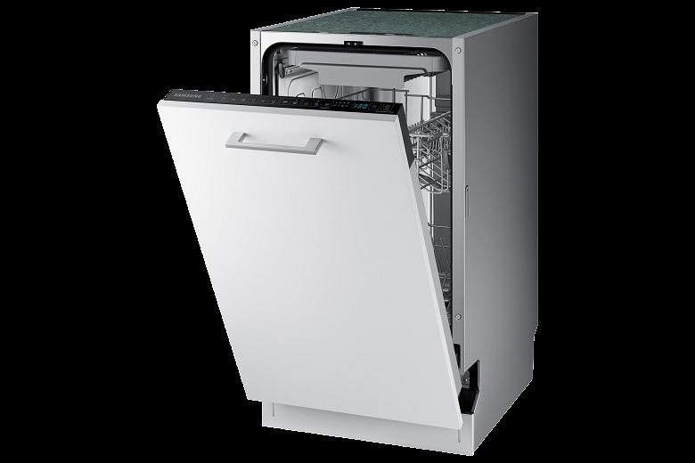В России вышли бесшумные посудомоечные машины Samsung