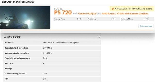 APU Ryzen 7 4700U подходит для игр намного лучше, чем дискретная видеокарта Nvidia MX250