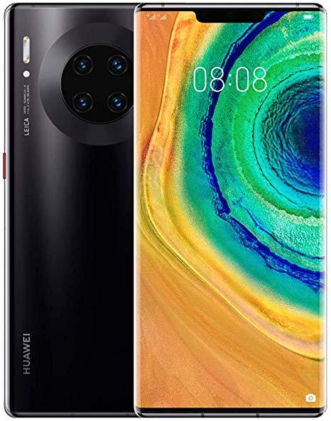 Huawei P40 Pro на живом фото во включенном состоянии