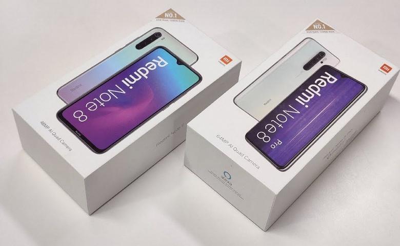 Redmi Note 8 стал самым продаваемым в мире смартфоном с Android