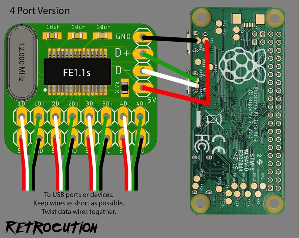 Лёгкий способ сделать крохотный USB-хаб для Raspberry Pi - 11