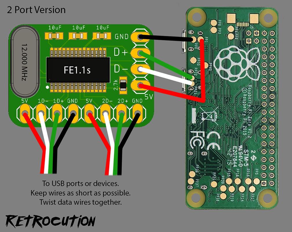 Лёгкий способ сделать крохотный USB-хаб для Raspberry Pi - 12