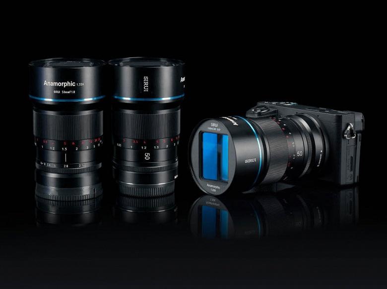 Начало продаж анаморфотного объектива Sirui 50mm F1.8 формата APS-C, на выпуск которого было собрано более миллиона долларов, перенесено