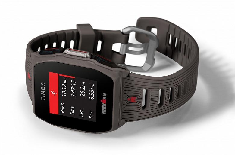 Timex Ironman R300 GPS — спортивные часы с автономностью почти в месяц