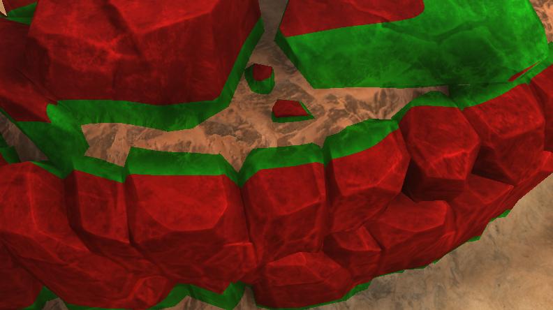 Блендинг и Unity Terrain: как избавиться от пересечений и перестать делать глазам больно - 17