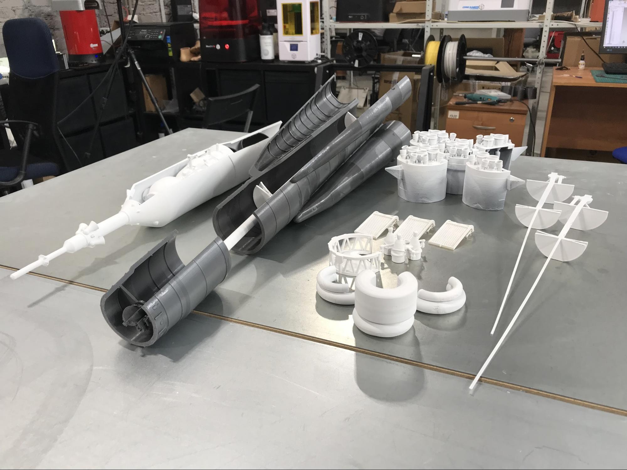 Как мы делали макеты космической техники для Московского авиационного института - 17