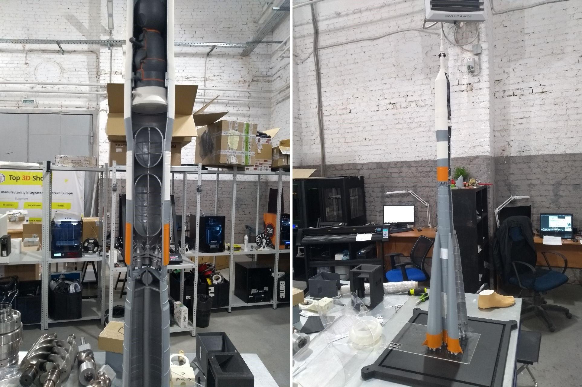 Как мы делали макеты космической техники для Московского авиационного института - 18
