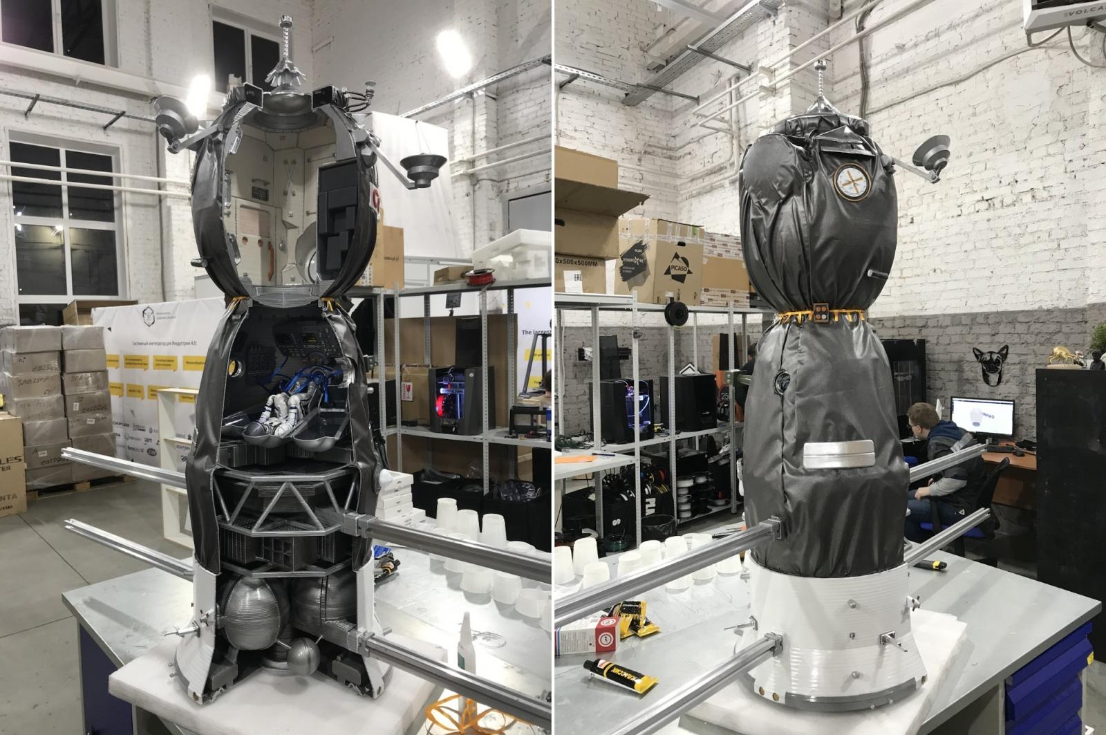 Как мы делали макеты космической техники для Московского авиационного института - 27