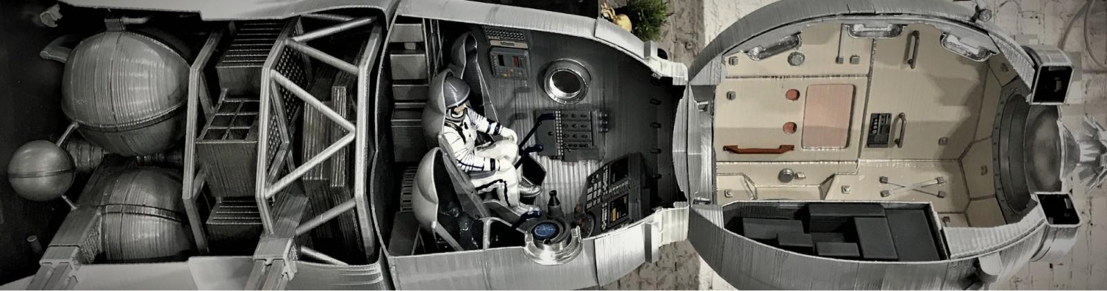 Как мы делали макеты космической техники для Московского авиационного института - 28