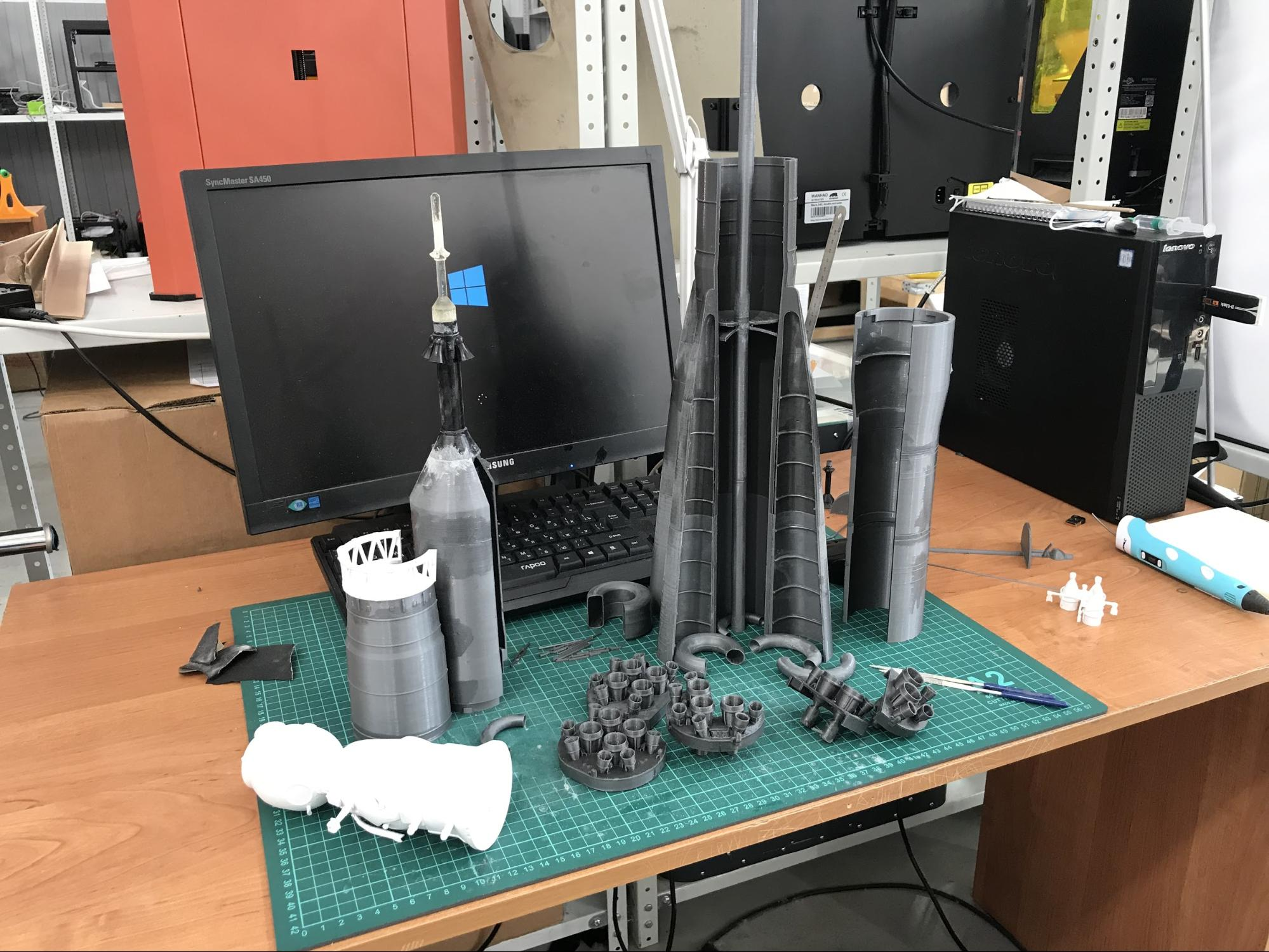 Как мы делали макеты космической техники для Московского авиационного института - 4