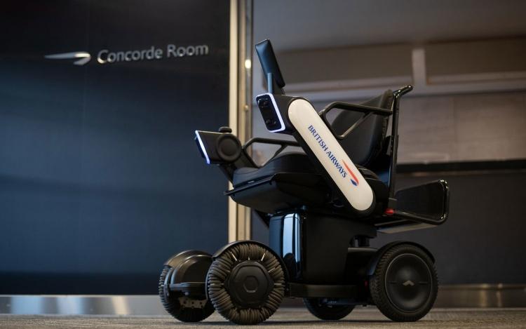 British Airways тестирует автономные электрические инвалидные коляски