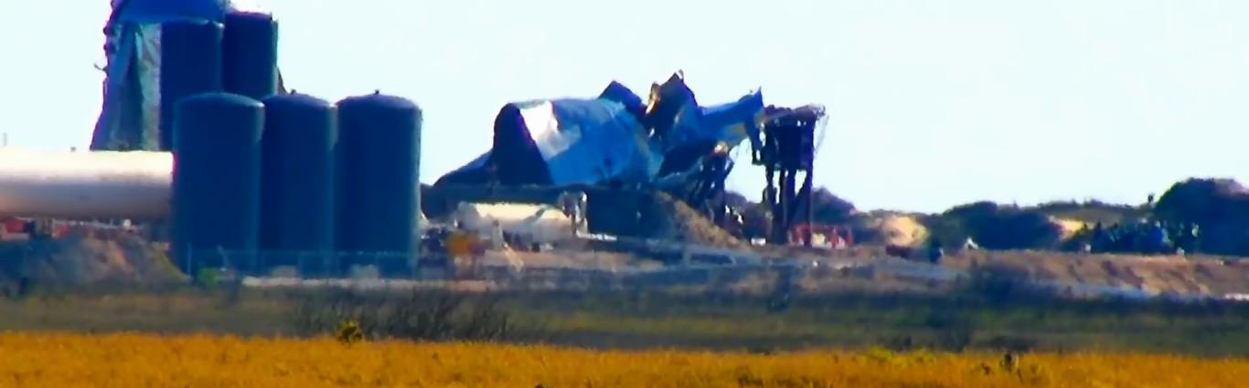 SpaceX провела испытание прототипа Starship SN1, которое закончилось взрывом - 3