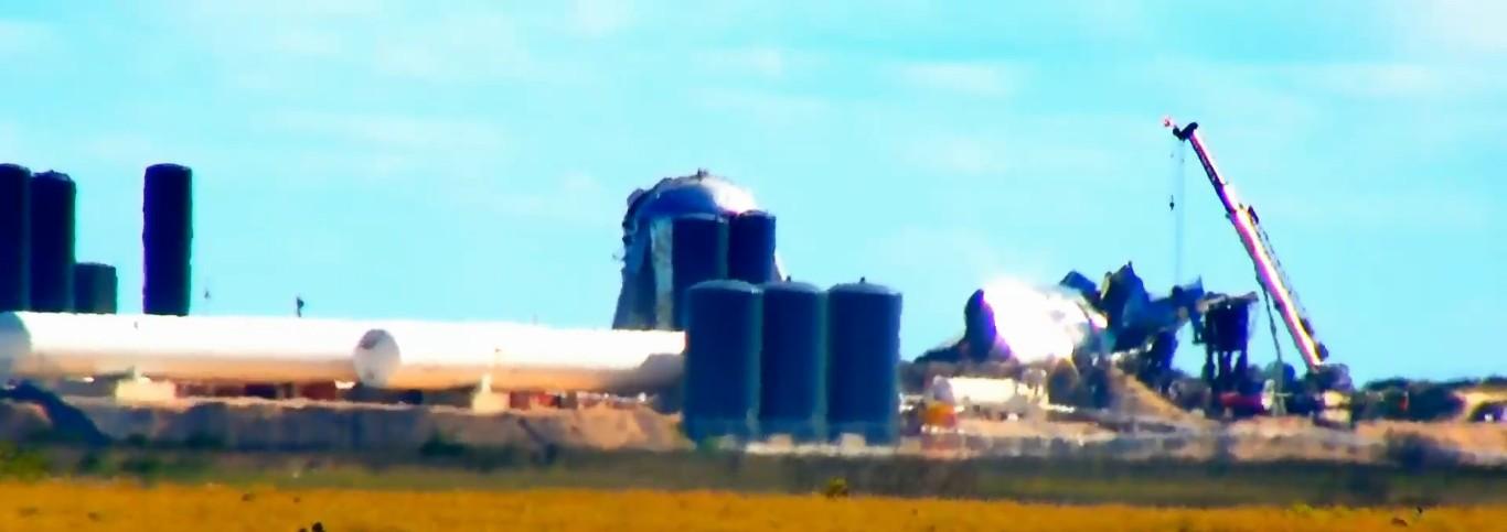 SpaceX провела испытание прототипа Starship SN1, которое закончилось взрывом - 4
