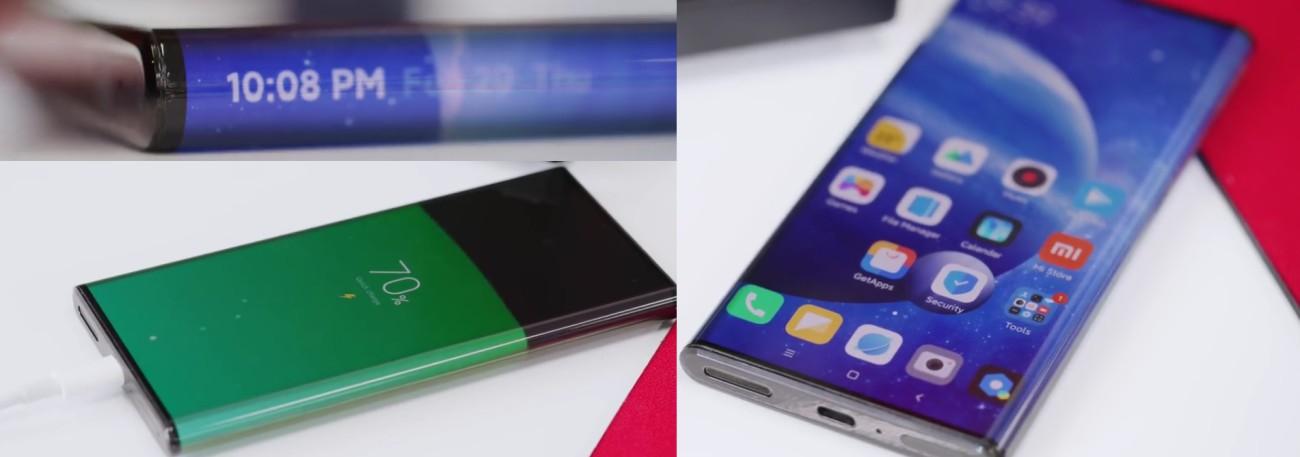 В YouTube появились первые обзоры прототипа концептуального смартфона Xiaomi Mi Mix Alpha - 1