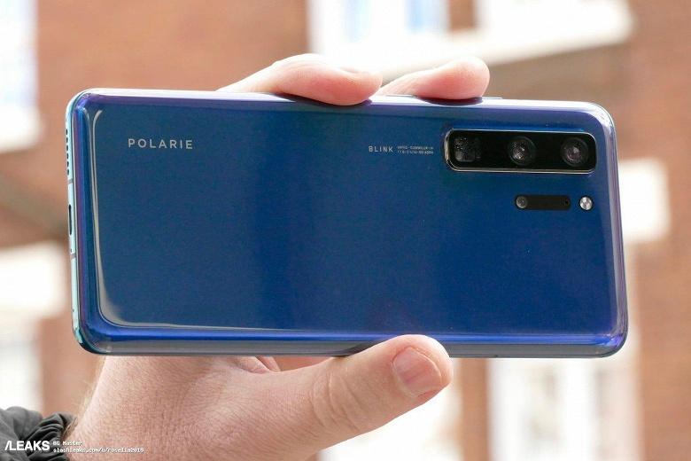 Huawei P40 Pro с огромной камерой засняли во включенном состоянии