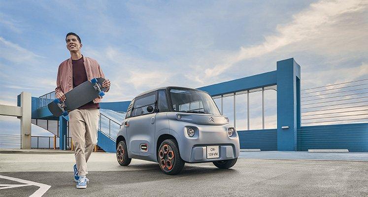 Миниатюрный электромобиль Citroen Ami в Европе можно будет водить без прав
