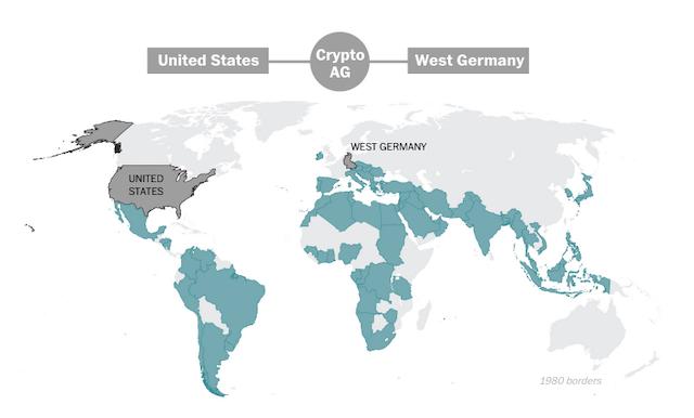 Тайна длиною в полвека: весь мир на ладони ЦРУ - 20