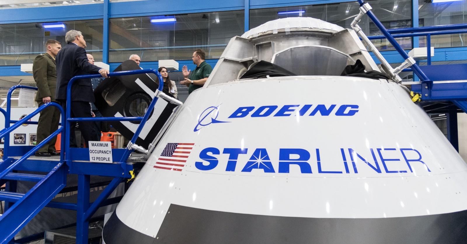 Boeing признал проблемы в программном обеспечении Starliner