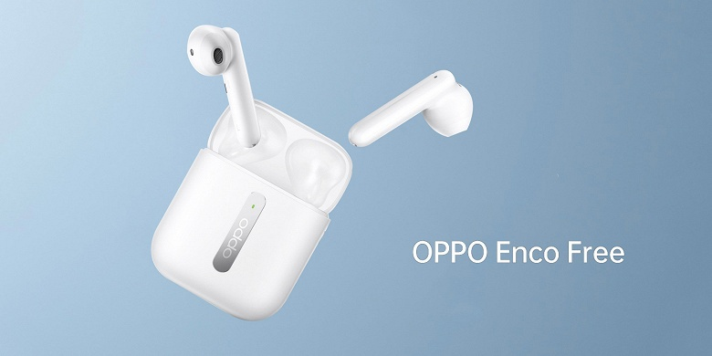 Доступный конкурент Apple AirPods в исполнении Oppo поступает в продажу