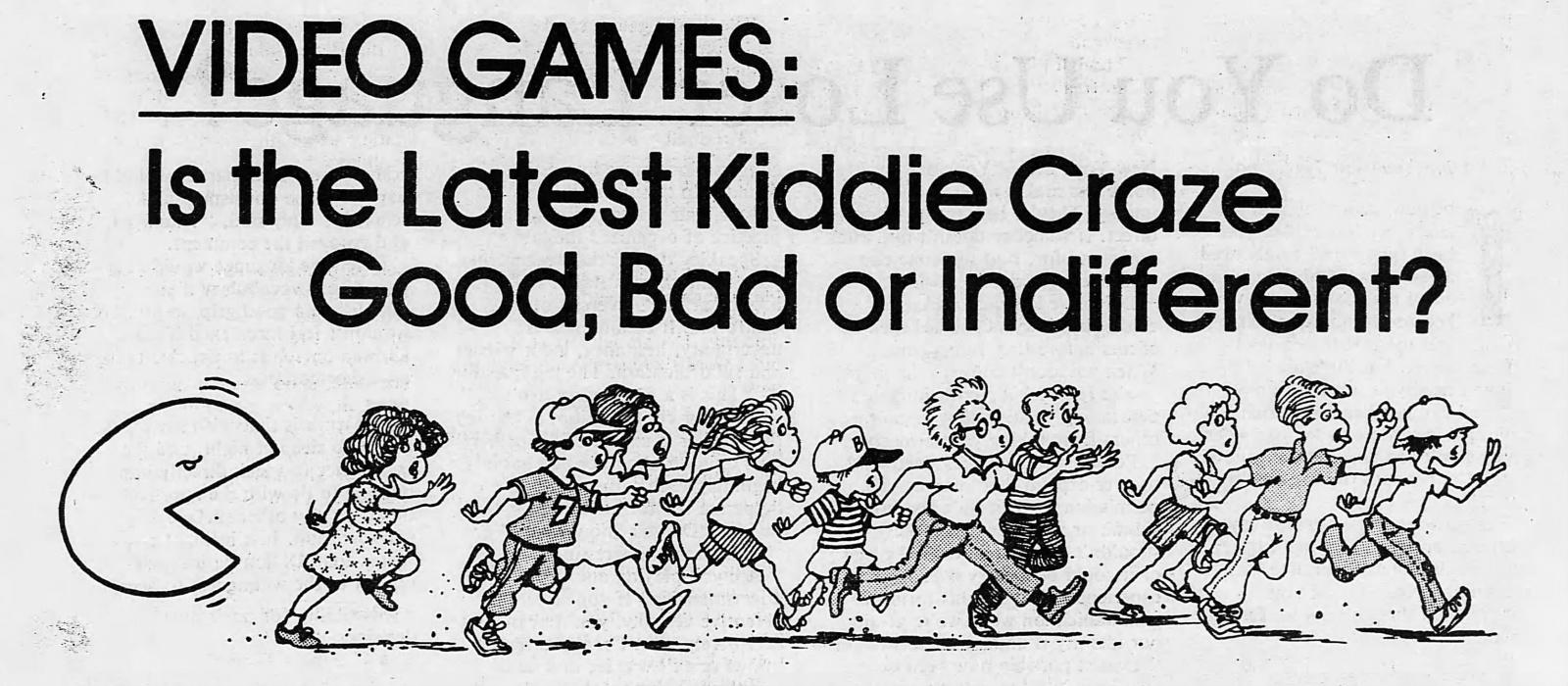 Магазинные крысы, видиоты и игроманы: пропаганда вреда видеоигр, шедшая в 80-х годах - 13