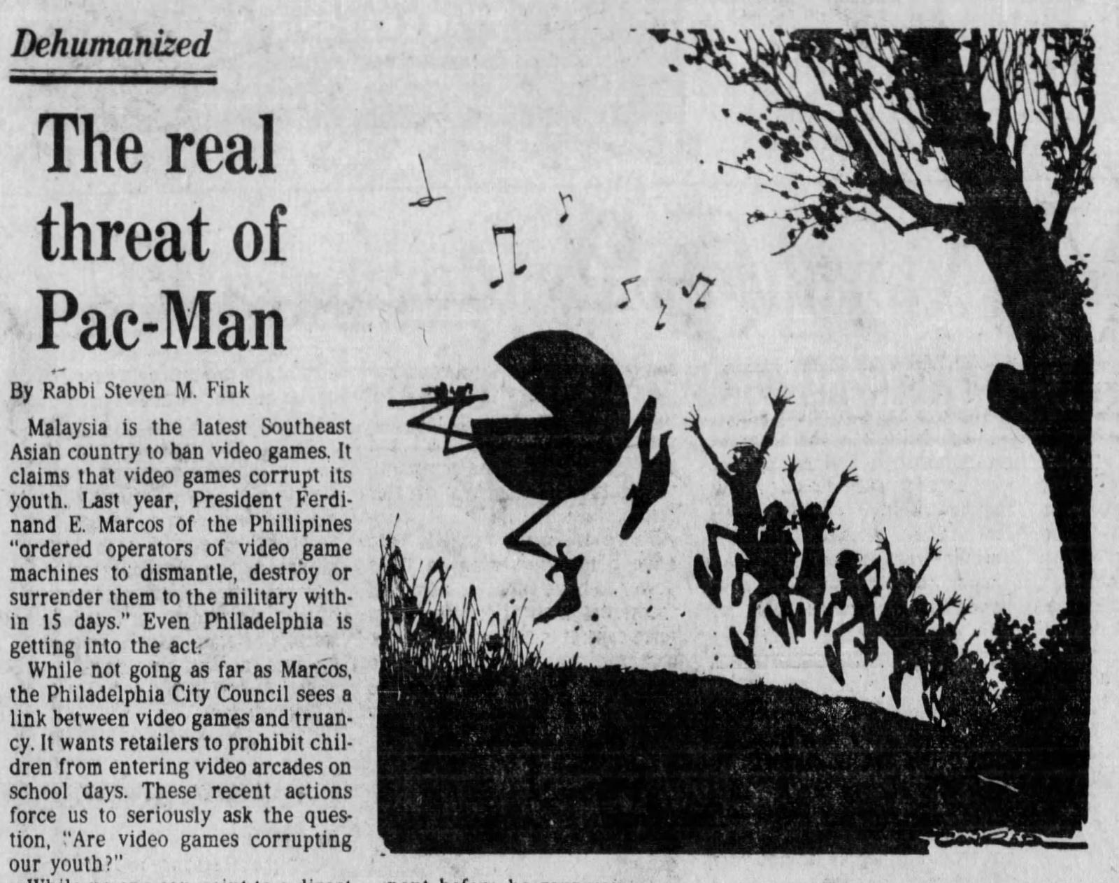 Магазинные крысы, видиоты и игроманы: пропаганда вреда видеоигр, шедшая в 80-х годах - 5