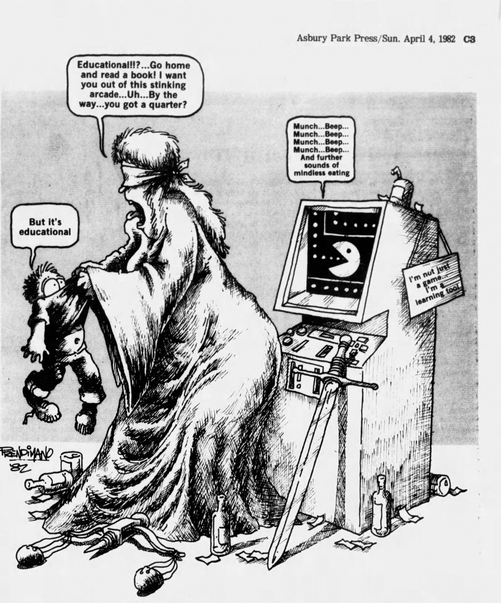 Магазинные крысы, видиоты и игроманы: пропаганда вреда видеоигр, шедшая в 80-х годах - 7