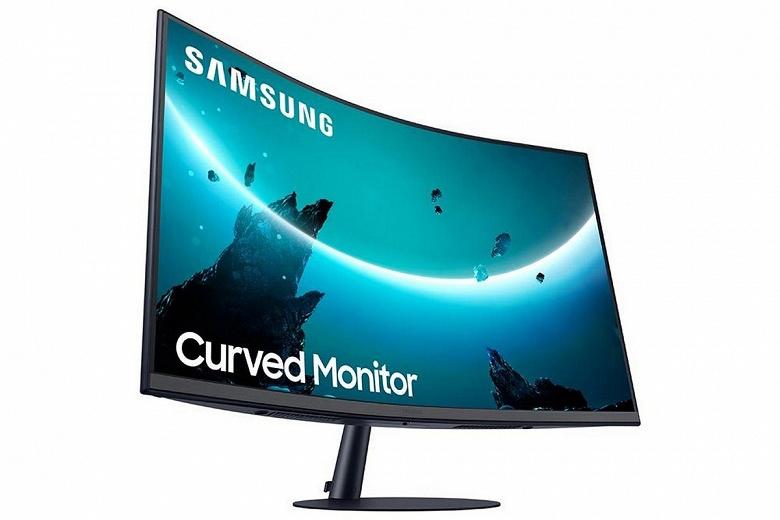 Мониторы Samsung T55 получили очень сильно изогнутые панели, но с классическим соотношением сторон