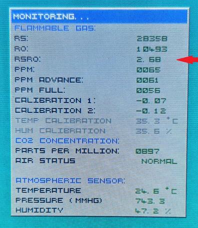 Расстановка точек над датчиками газа серии MQ – глубокое понимание даташита и настройка - 6