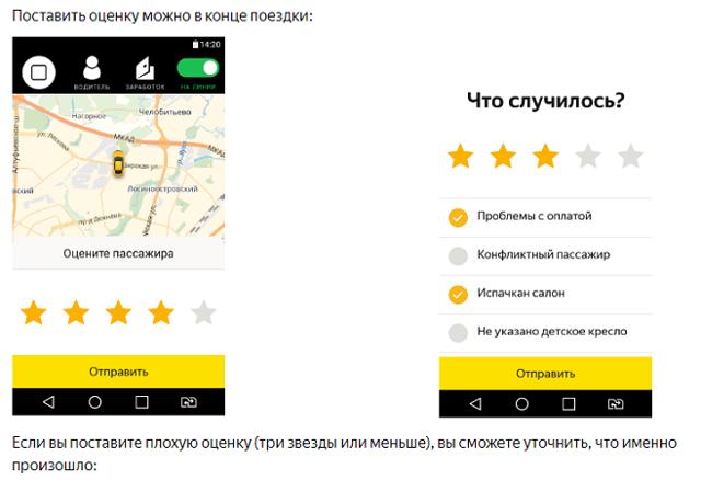 Рейтинг в Яндекс.Такси: короткий пост на серьёзную тему - 2