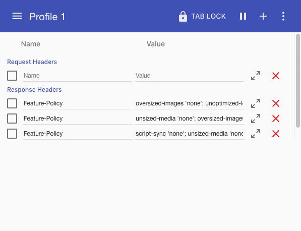 HTTP-заголовок Feature-Policy и контроль поведения веб-страниц в браузерах - 6